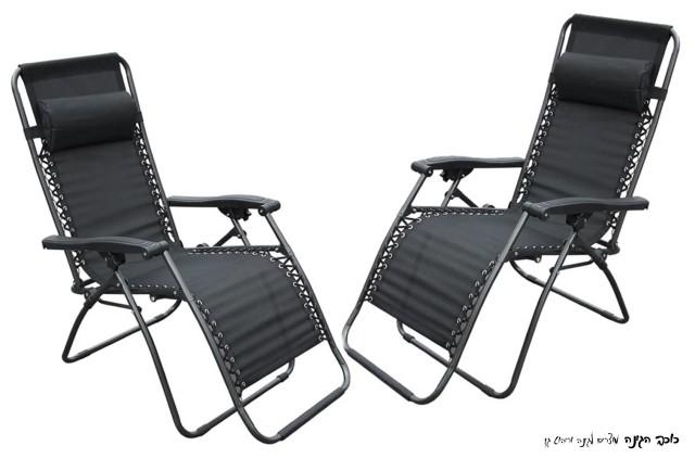 כסא שיזוף מתקפל שני מצבים